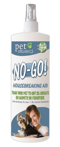 Natur Vet 16024 No Go! House Breaking Aid For Pets, 16 oz - Peazz Pet
