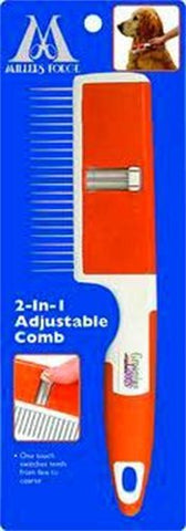 2-In-1 Adjustable Comb - Peazz Pet