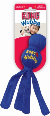 "Kong 16362 Kong Small Wubba (WB3 31/2"" X 13"") - Peazz Pet"
