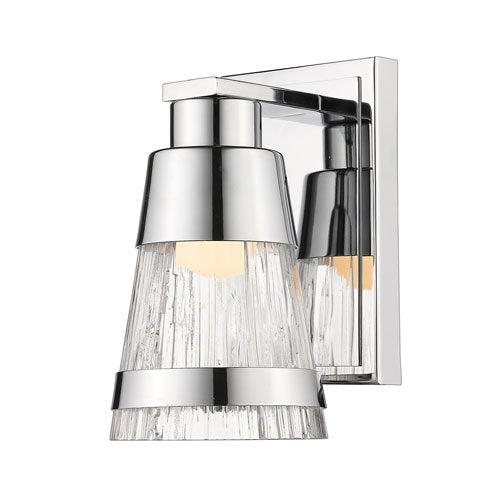 1 Light Contemporary Wall Sconce