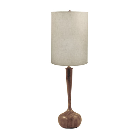 Lamp Works LAM-443 Wood Collection Woodtone Finish Table Lamp