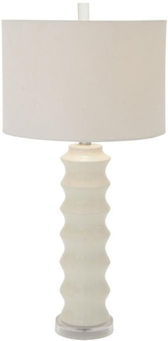 "Bayden Hill Ceramic Mtl Table Lamp 30""H - Peazz.com"