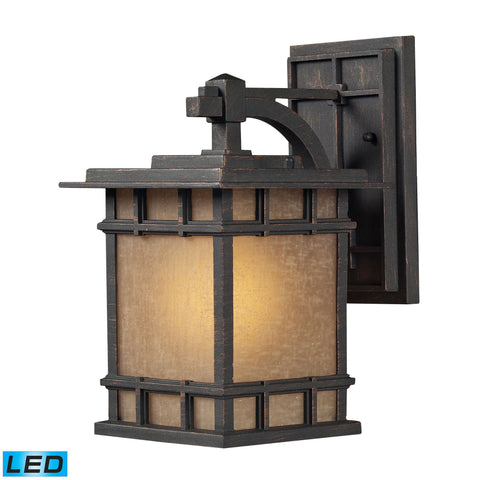 ELK Lighting 45010/1-LED Newlton Collection Weathered Charcoal Finish - PeazzLighting