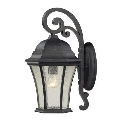 ELK Lighting 45051/1 Wellington Park Collection Weathered Charcoal Finish - PeazzLighting