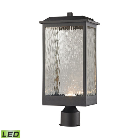 ELK Lighting 45204/LED Newcastle Collection Textured Matte Black Finish - PeazzLighting