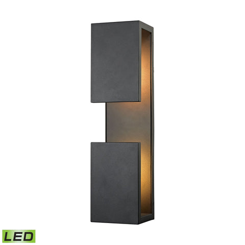 ELK Lighting 45232/LED Pierre Collection Textured Matte Black Finish - PeazzLighting