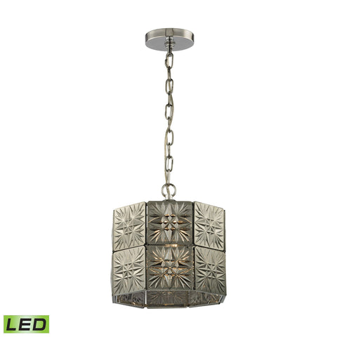 ELK Lighting 45237/1-LED Glass Tile Collection Polished Chrome Finish - PeazzLighting