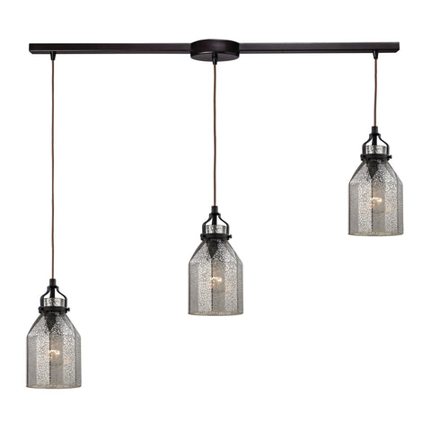 ELK Lighting 46009/3L Danica Collection Oil Rubbed Bronze Finish - PeazzLighting