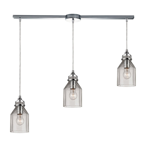 ELK Lighting 46019/3L Danica Collection Polished Chrome Finish - PeazzLighting