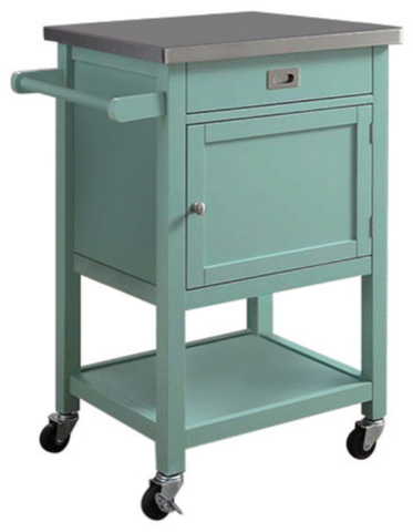 Bayden Hill 464917GRY01U Sydney Kitchen Cart