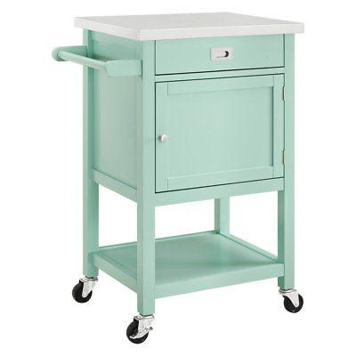 Linon 464918GRY01U Sydney Gray Apartment Cart