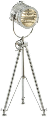 Benzara 46687 Tripod Spot Light With Convenient Adjustments