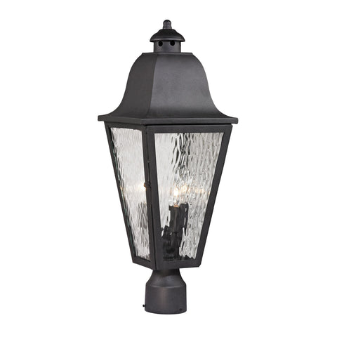ELK Lighting 47105/3 Forged Brookridge Collection Charcoal Finish - PeazzLighting