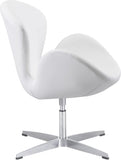 Zuo Modern 500314 Pori Occasional Chair Color White Steel Finish - Peazz.com - 2