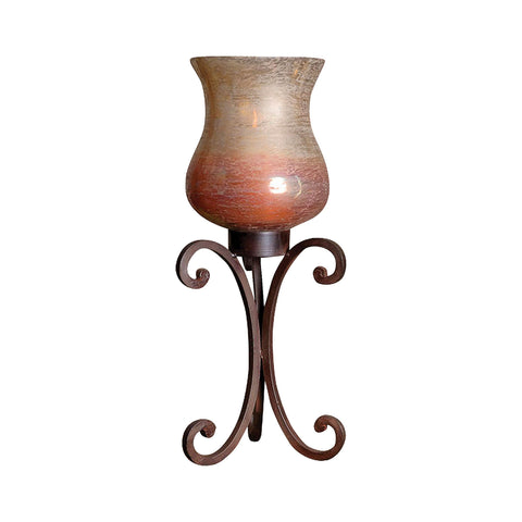 Pomeroy POM-502088 Range Collection Montana Rustic,Artifact Multi Finish Candle/Candle Holder