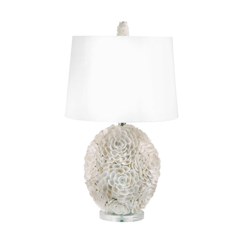 Lamp Works LAM-505 Shell Collection Natural Finish Table Lamp
