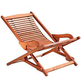 Malibu V1802SET10 3 Piece Outdoor Patio Chaise Lounge Set, Natural Wood