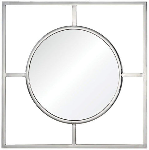 Ren-Wil Severn Wall Mirror - 30.5W x 30.5H in.