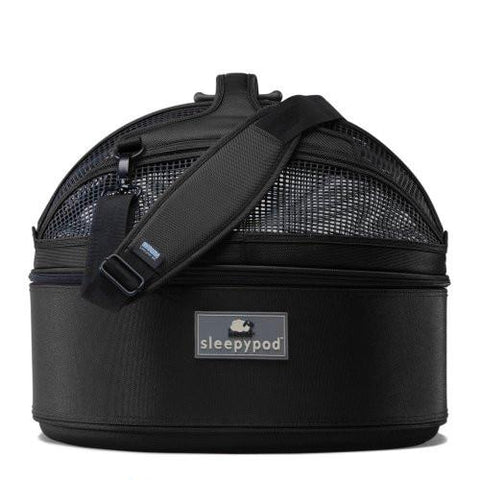 Sleepypod Mini SM-BLK Mobile Pet Bed (Jet Black) Small - Peazz.com - 1