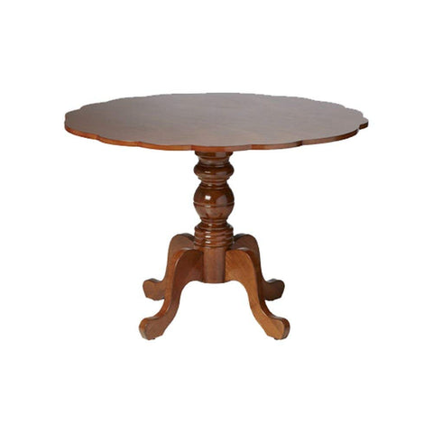 Boraam 21055 Regency Dining Table, Burnt Walnut