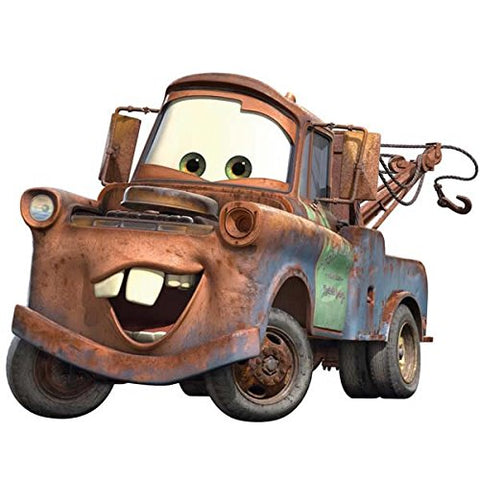 Cars - Mater Peel & Stick Giant Wall Decal (RMK1519GM) - Peazz Toys