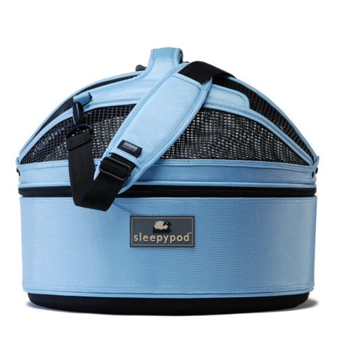 Sleepypod SP-SKY Mobile Pet Bed (Sky Blue) Medium - Peazz.com