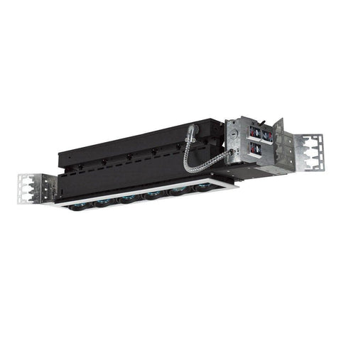Jesco Lighting MMG1650-6EWB 6-Light Linear New Construction (Low Voltage) Includes 120V Lightech Electronic Transformer