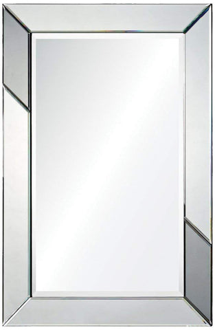Ren-Wil Rumba Wall Mirror - 24W x 36H in.