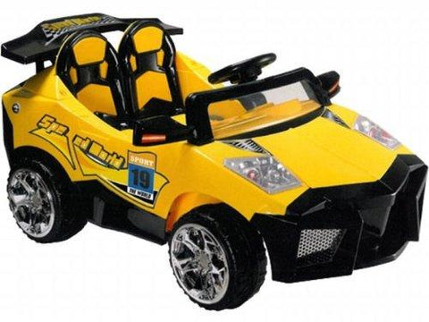 Mini Motos MM-GB5018_Yellow Super Car 12v Yellow