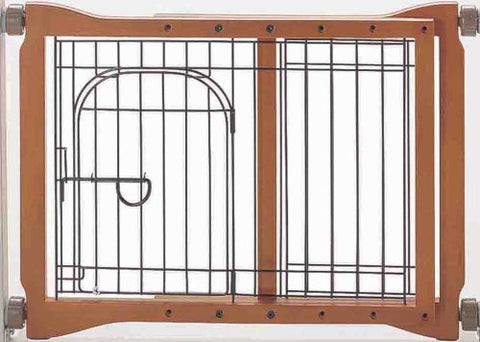 Richell R94111 The Pet Sitter Pressure Mounted Gate