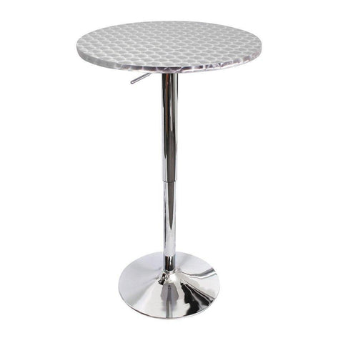 LumiSource BT-TLBISTRO23RN Bistro Bar Table - Round
