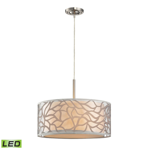 ELK Lighting 53001/3-LED Autumn Breeze Collection Brushed Nickel Finish - PeazzLighting