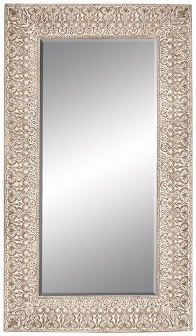 Benzara 53952 86 Inches High Polyurethane Frame Mirror