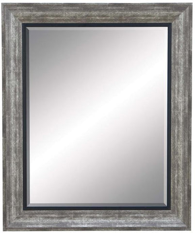 "Bayden Hill Pu Beveled Mirror 35""H,29""W - Peazz.com"