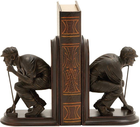 Benzara 54860 Unique And Stylish Golf Themed Bookends