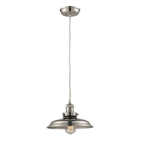 ELK Lighting 55011/1 Newberry Collection Polished Nickel Finish - PeazzLighting