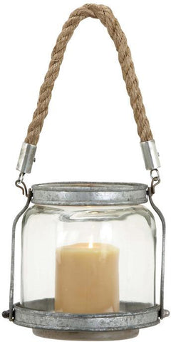 Benzara 55478 Lantern With Minimalistic Detailing For Rustic Appeal