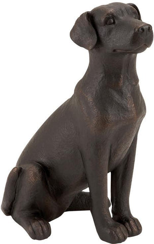 Benzara 55601 Table Top Polystone Dog Statue