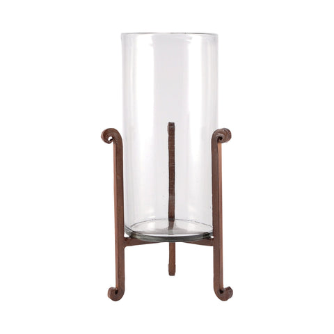Pomeroy POM-562679 Santana Collection Montana Rustic,Clear Finish Candle/Candle Holder