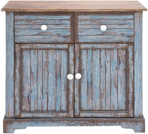 Benzara 56614 The Aged But Beautiful Wood Cabinet