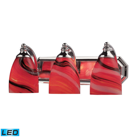 ELK Lighting 570-3C-CY-LED Bath And Spa Collection Polished Chrome Finish - PeazzLighting