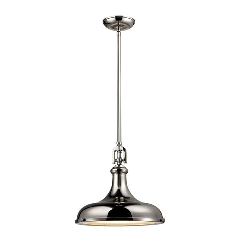 ELK Lighting 57031/1 Rutherford Collection Polished Nickel Finish - PeazzLighting
