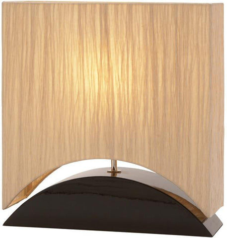 Benzara 60012 Wd Table Lamp 17-Inch H
