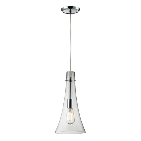 ELK Lighting 60055-1 Menlow Park Collection Polished Chrome Finish - PeazzLighting