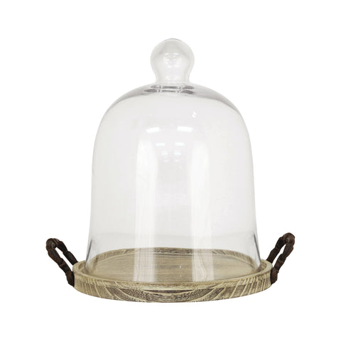 Pomeroy POM-607691 Campagne Collection Ashwood,Rustic,Clear Glass Finish Accessory