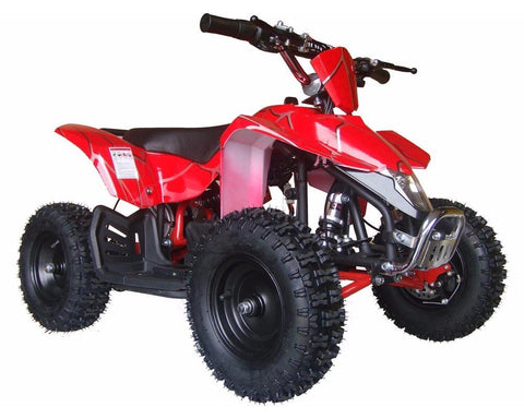 MotoTec MT-ATV3_Red Mini Quad v3 Red - Peazz.com