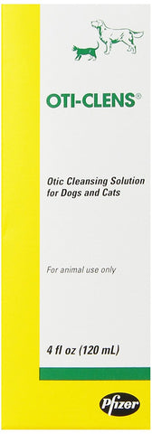 Pfizer 10094 OtiClens Otic Cleansing Solution, 4 oz - Peazz Pet