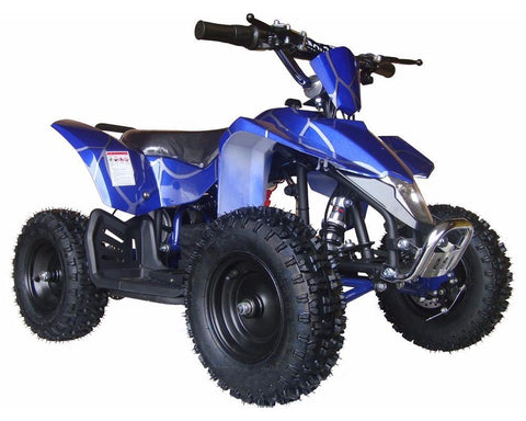 MotoTec MT-ATV3_Blue Mini Quad v3 Blue - Peazz.com