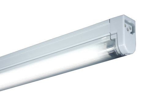 Jesco Lighting SP4-28SW/RD-W 2-Wire Non-Grounded T4 Sleek Plus-Fluorescent Undercabinet Fixture