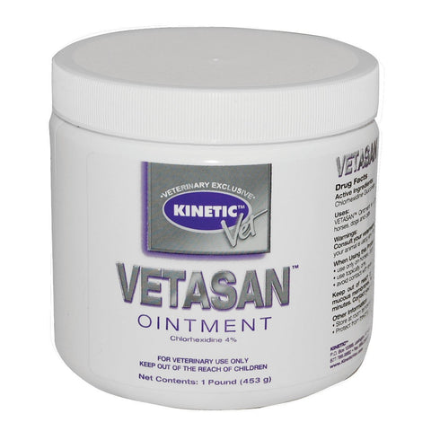 Kinetic 18251 Vetasan Ointment, 1 lb - Peazz Pet